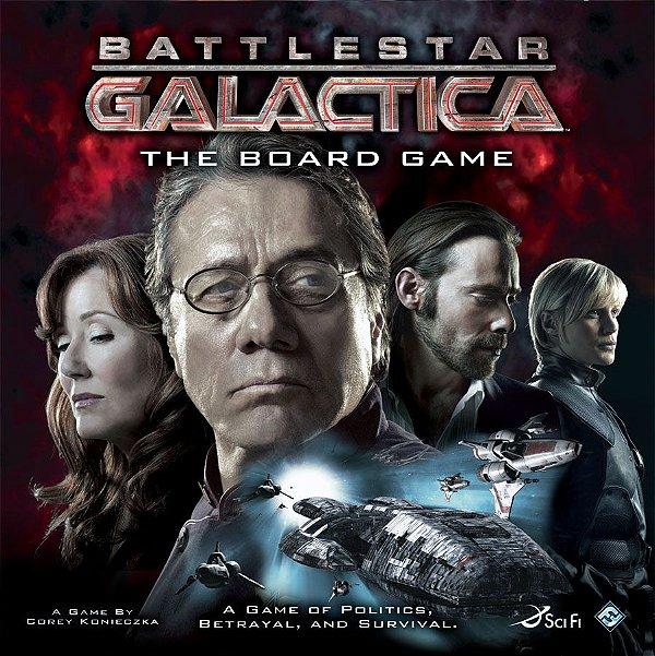 Battlestar Galactica Board Game (Importado) (Inglês)