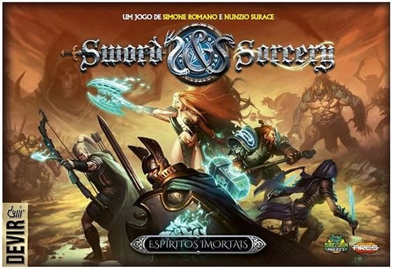 Sword e Sorcery Espíritos Imortais