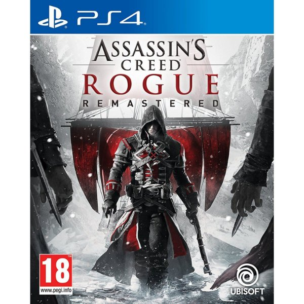 ASSASSINS CREED ROGUE - BLU-RAY - PS4