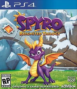 SPYRO REINGNITED TRILOGY - PS4