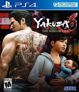 YAKUZA 6 PS4