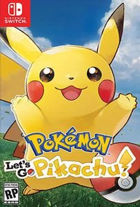 POKEMON LES'T GO PIKACHU SWITCH