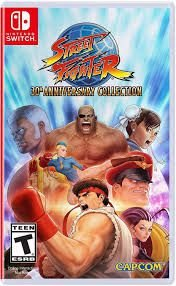 STREET FIGHTER: 30th ANNIVERSARY COLLECTION SWITCH