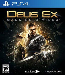 DEUS EX MANKIND DIVIDED US PS4
