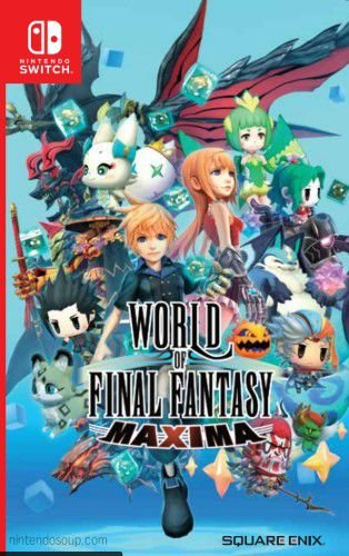 WORLD OF FINAL FANTASY MAXIMA  SWITCH