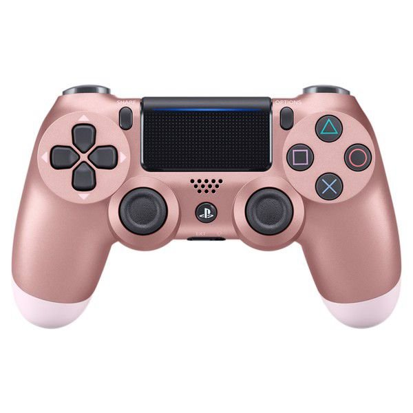 CONTROLE DUAL SHOCK ROSE GOLD PS4