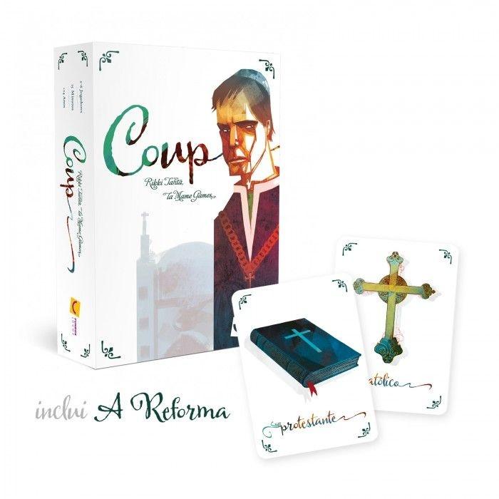 """Coup - 2ª Edição (INCLUI EXPANSÃO """"A REFORMA"""")"""