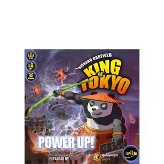 King of Tokyo - POWER UP - Expansão