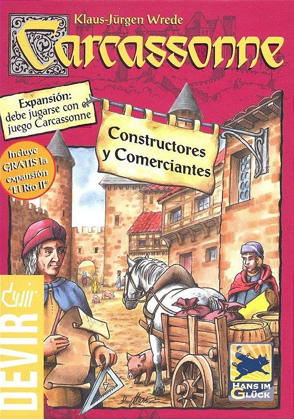Carcassonne Construtores e Comerciantes (Constructores e Comerciantes)