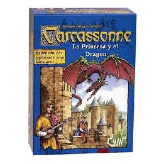 Carcassonne a Princesa e o Dragão (La Princesa y el Dragón)