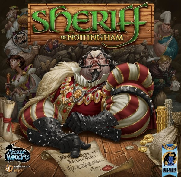 Sheriff of Nottingham - Board Game