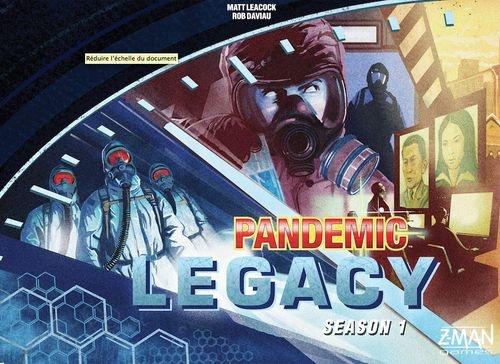 Pandemic Legacy 1ª Temporada