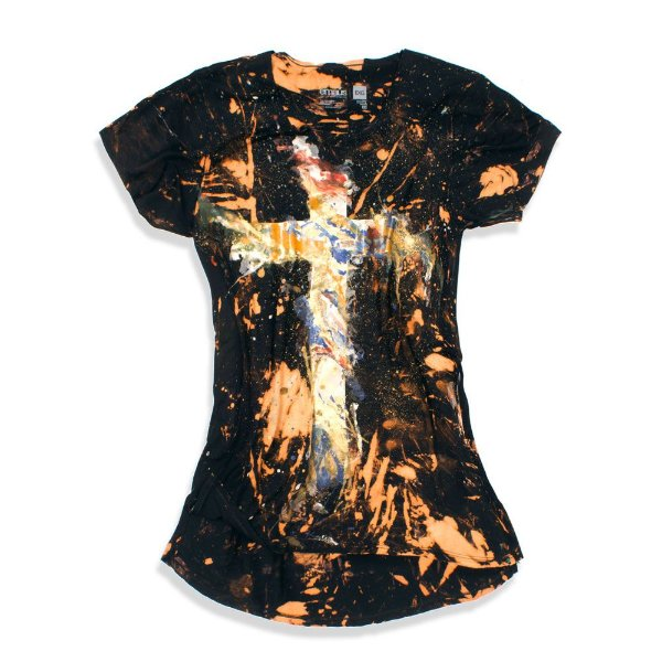 CAMISETA CRUZ CUSTOM FEMININA