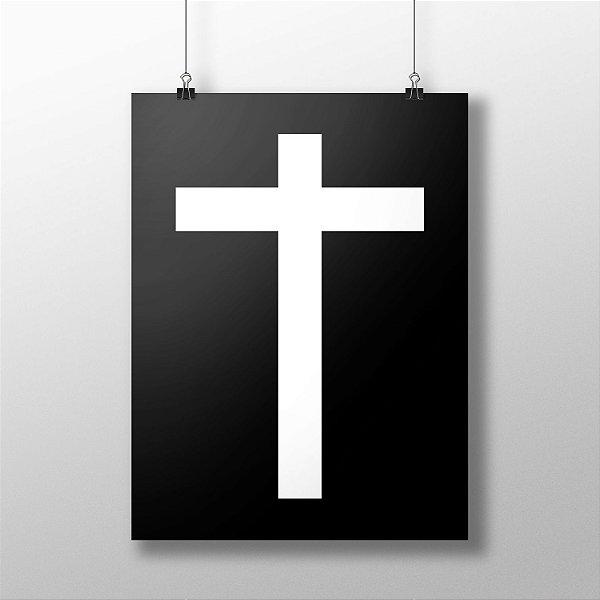 Poster Cruz Black
