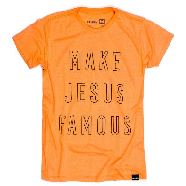 CAMISETA MAKE JESUS  FLUOR