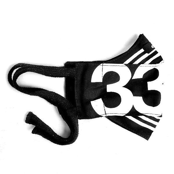 Máscara de proteção facial - 33 listras die to live