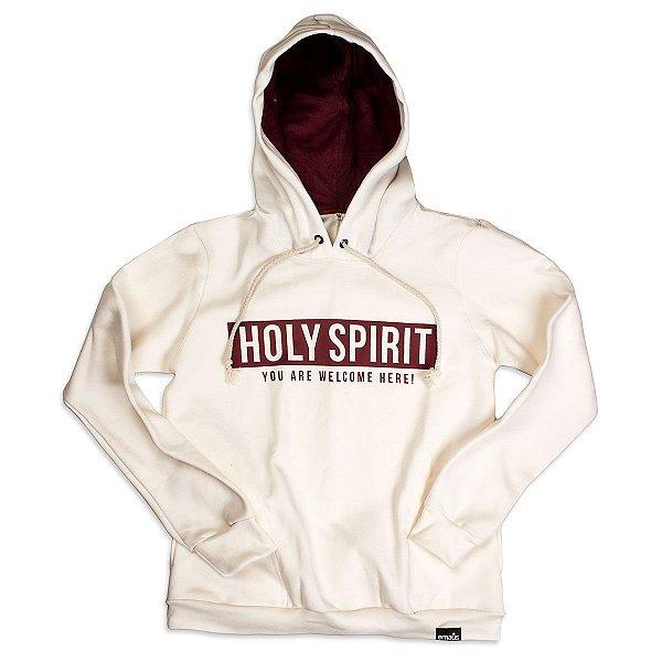 MOLETOM HOLY SPIRIT OFF WHITE