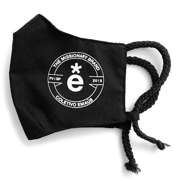 Máscara de proteção facial / 100% algodão / missionary brand