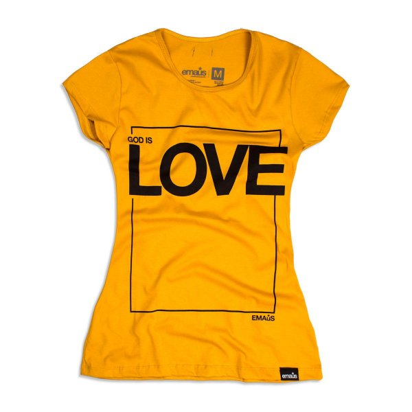 CAMISETA FEMININA GOD IS LOVE