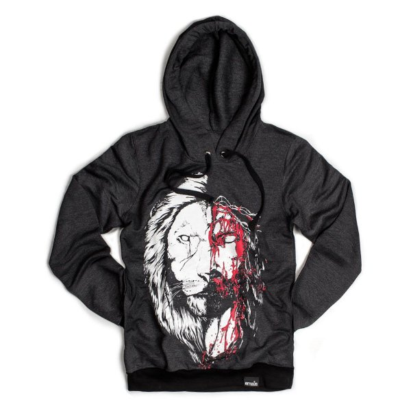 MOLETOM JESUS LEÃO ( SEM FELPA)