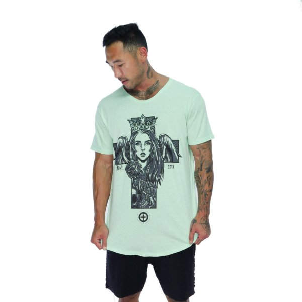 CAMISETA ANGEL WOMAN - VERDE