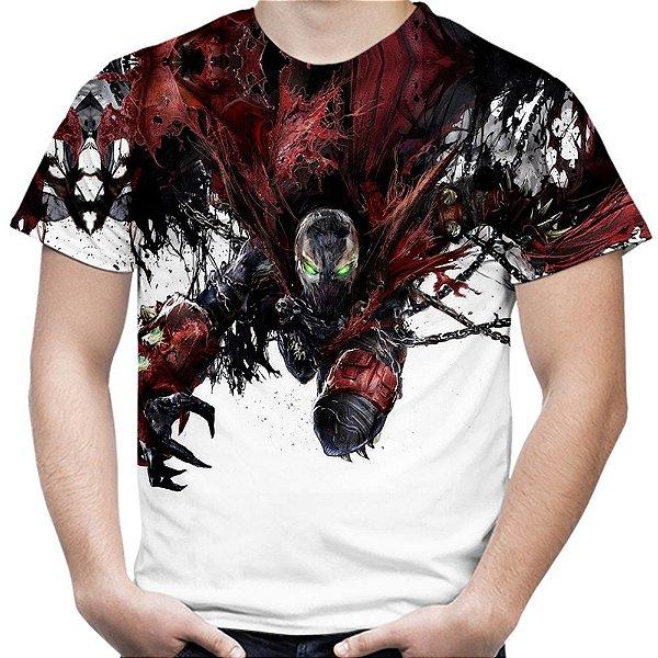 Camiseta Masculina Spawn  Estampa Total MD01