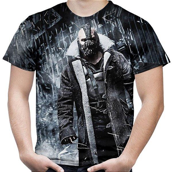 Camiseta Masculina Bane Batman Estampa Total