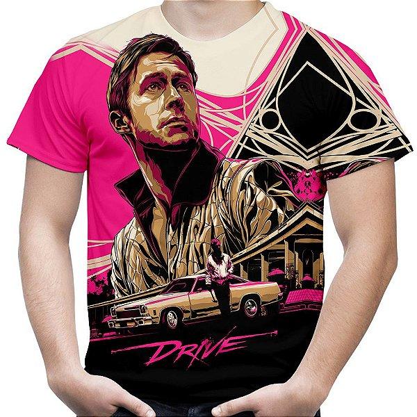 Camiseta Masculina Drive Estampa Total