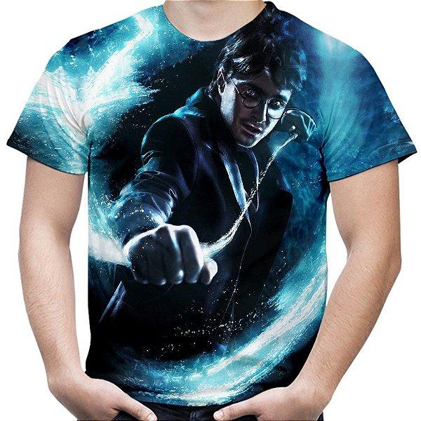 Camiseta Masculina Harry Potter Estampa Total Md04