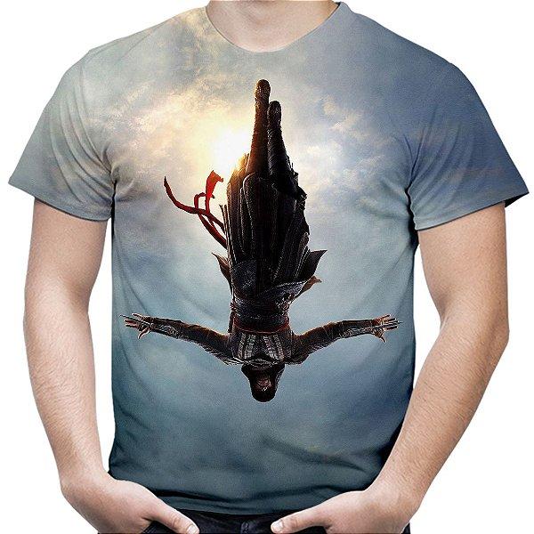 Camiseta Masculina Assassin's Creed Filme Estampa Total Md01