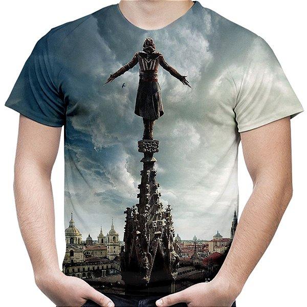 Camiseta Masculina Assassin's Creed Filme Estampa Total Md02