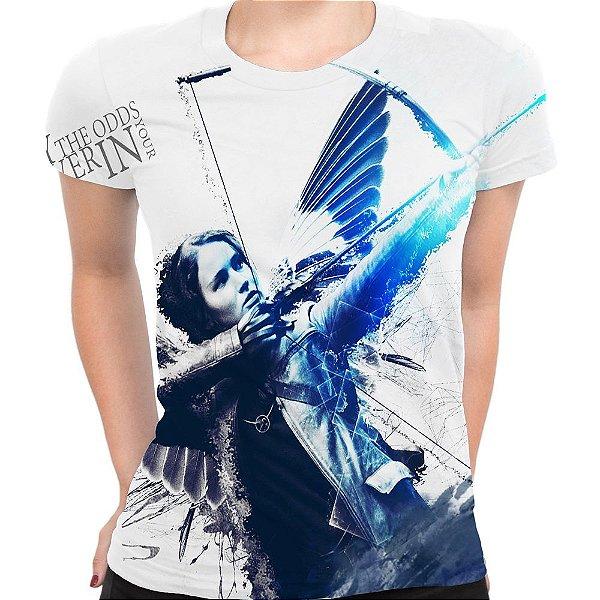 Baby look Feminina Jogos Vorazes The Hunger Games Total Md04