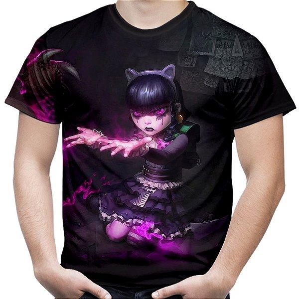 Camiseta Masculina Annie Gótica League Of Legends Lol Md02