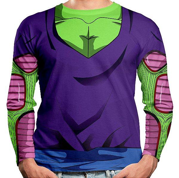 Camiseta Masculina Manga Longa  Piccolo Traje