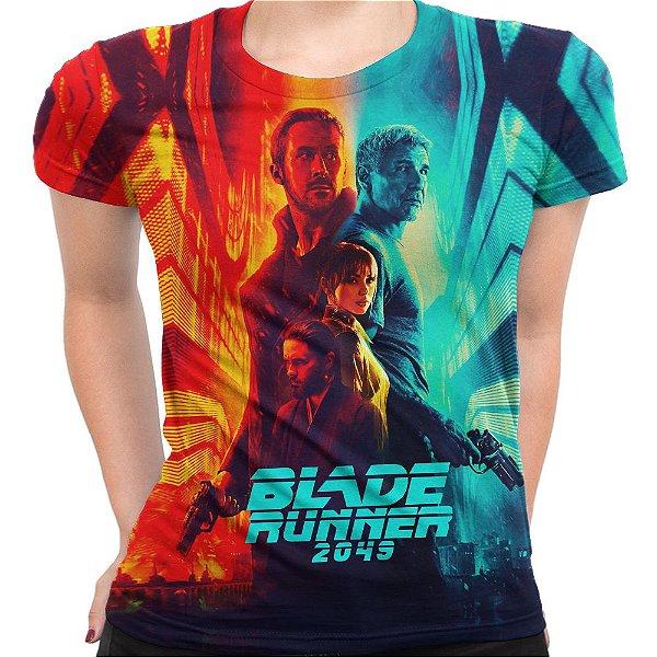 Camiseta Baby Look Feminina Blade Runner 2049 Md1