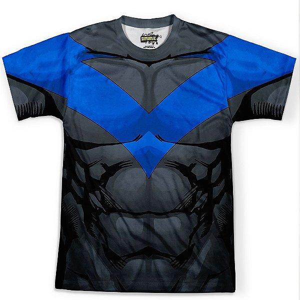 Camiseta Masculina Asa Noturna