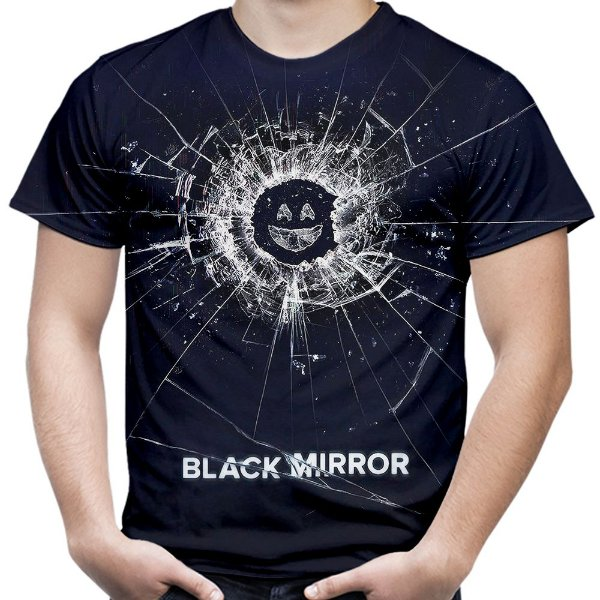 Camiseta Masculina Black Mirror