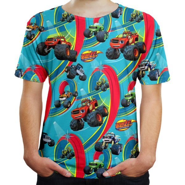 Camiseta Masculina Blaze and the Monster Machines MD02