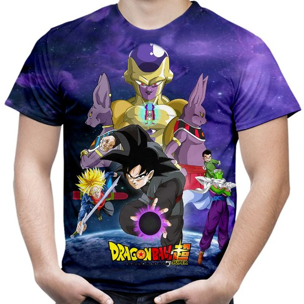 Camiseta Masculina Goku Dragon Ball Super MD11