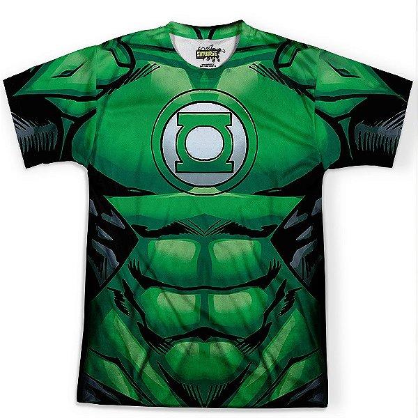 Camiseta Masculina Lanterna Verde Traje