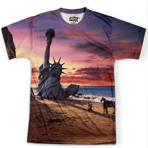 Camiseta Masculina Planeta dos Macacos Md01