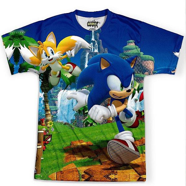 Camiseta Masculina Sonic