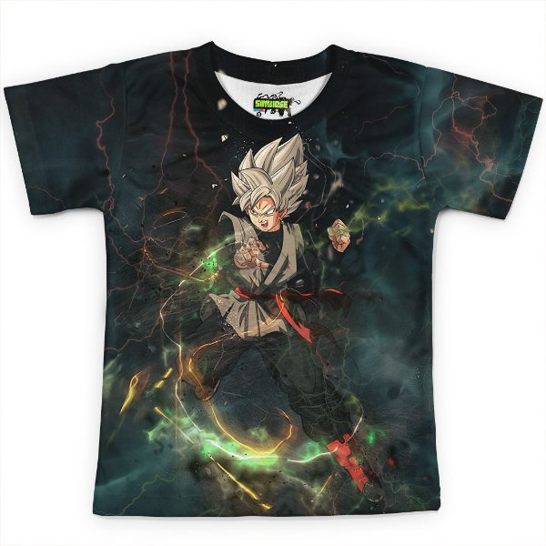 Camiseta Infantil Goku Dragon Ball Super MD09