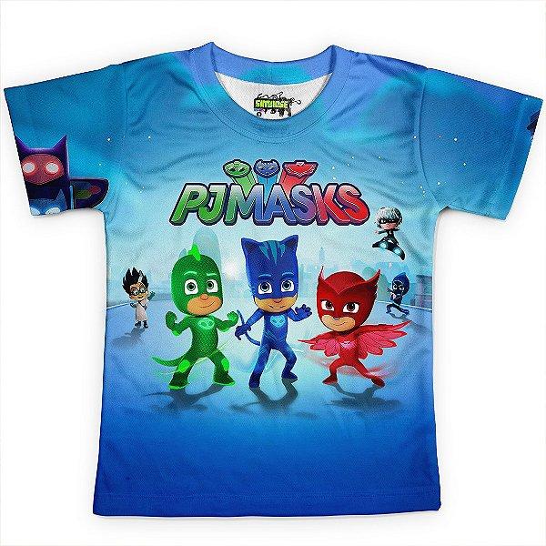 Camiseta Infantil PJ Masks Md01
