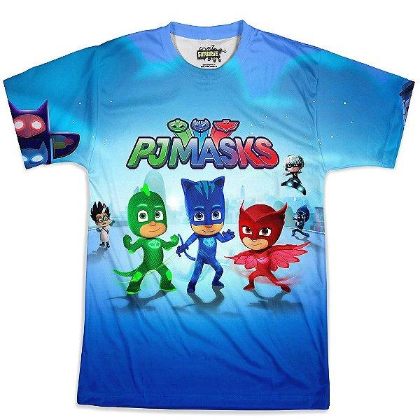Camiseta Masculina PJ Masks Md01