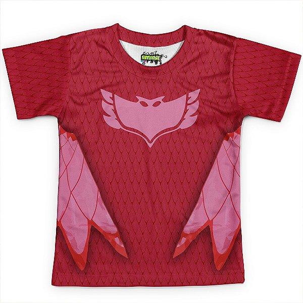 Camiseta Infantil Corujita PJ Masks - OUTLET