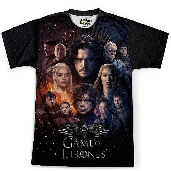 Camiseta Masculina Game Of Thrones MD07