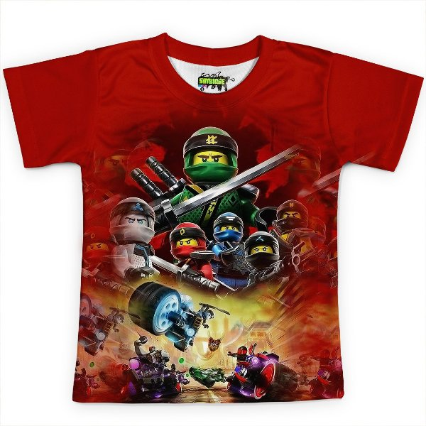 Camiseta Infantil Ninjago