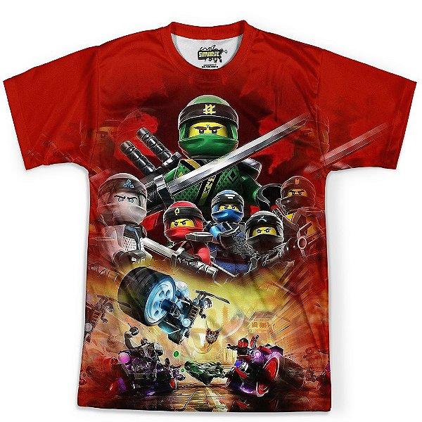 Camiseta Masculina Ninjago