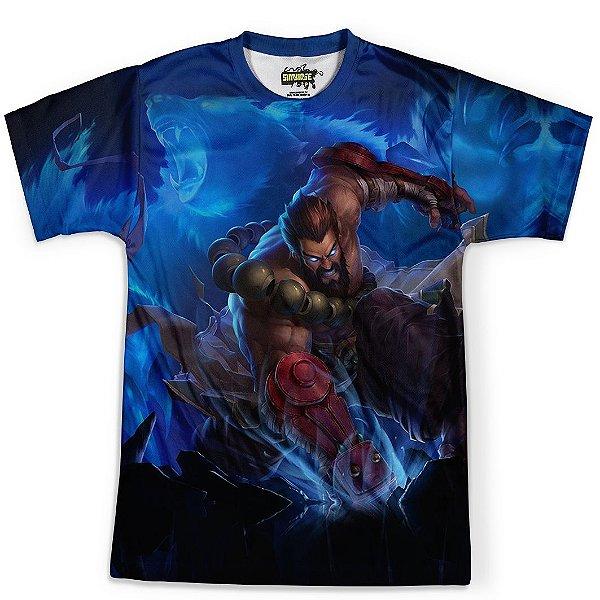 Camiseta Masculina Udyr League Of Legends